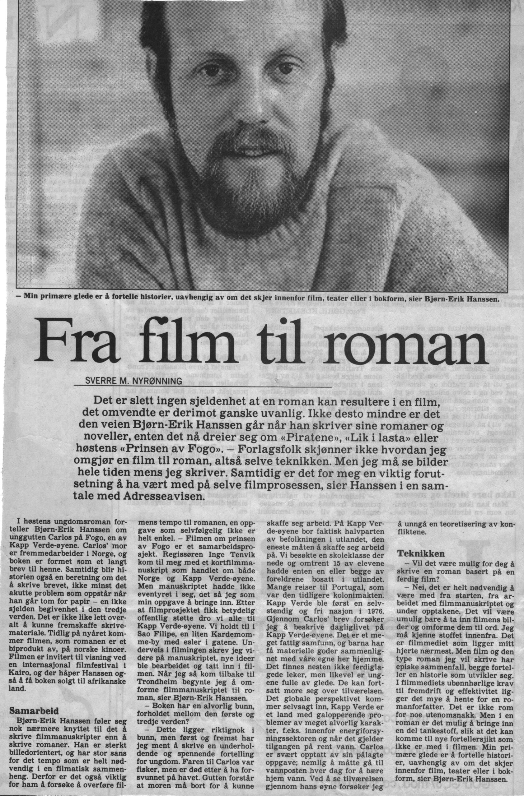 Fra film til roman