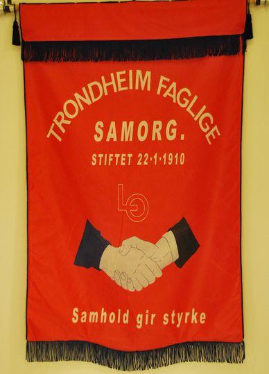 Trondheim Samorg sin fane