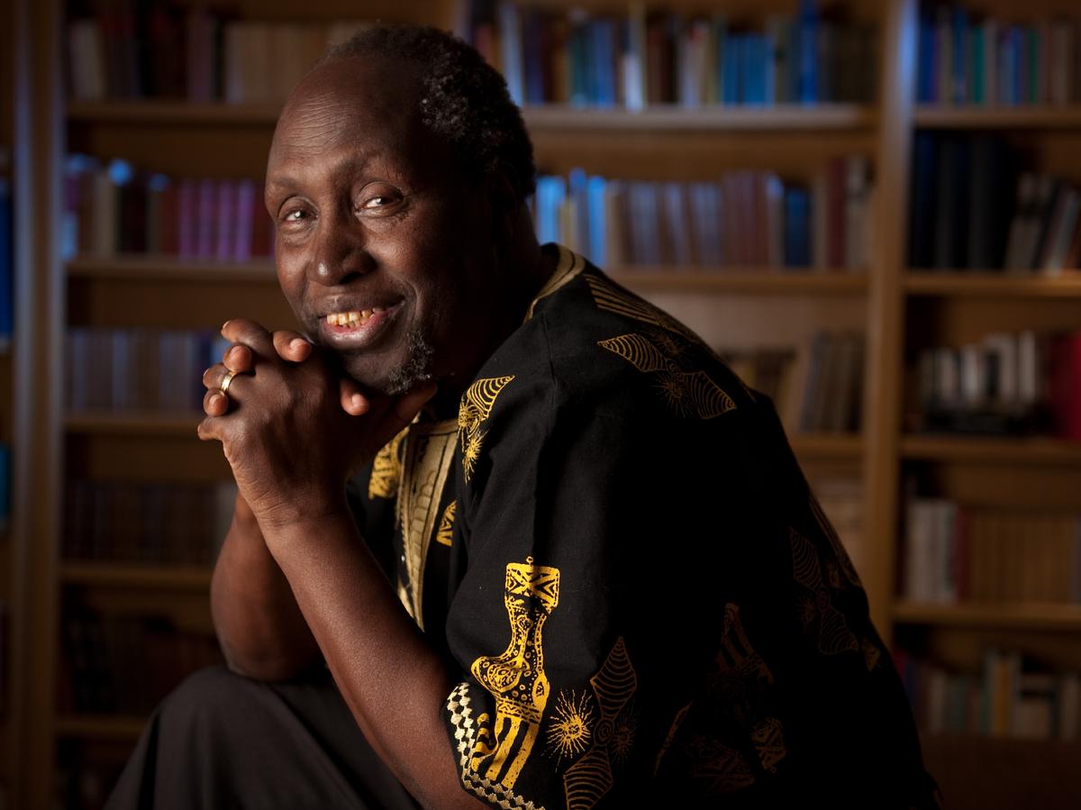 Ngugi wa Thiong'o, en av Kenyas ledende forfattere.