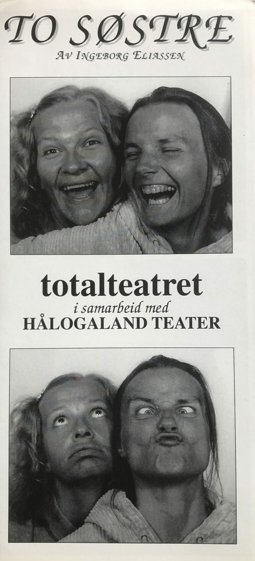 Folder To søstre Totalteatere/HT