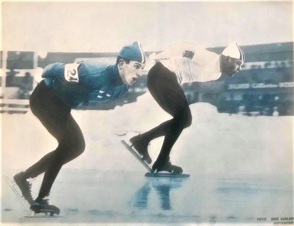 Vykort. VM 19-20 februari 1966 på Ullevi. (2)